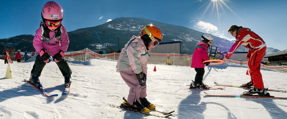 Ski - Jardin de neige